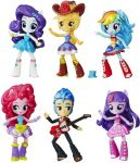 My Little Pony Equestria Girls Minis School Dance 6 Dużych Figurek Figurki Szkoła Tańca