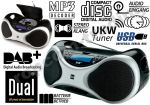 CD/Radio Cyfrowe DAB+USB Mp3 Dual DAB -P100