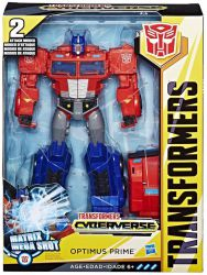 Transformers Optimus Prime CYBERVERSE ACTION ATTACKER
