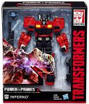 Transformers Figurka INFERNO Power of the Primes 18 cm. Wóz Strażacki
