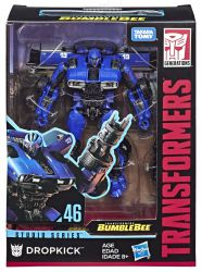 Figurka Transformers Generations Studio Series DELUXE Dropkick BLUE LIGHTN