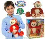 Emotion Pets Interaktywna MAŁPKA  Playfuls COCCO
