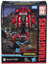 Figurka Transformers Generations Studio Series SHATTER DLX RED LIGHTNING