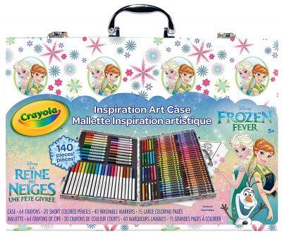 Topnotch Frozen Zestaw Plastyczny Crayola Kredki Pisaki Kraina Lodu Elsa Anna YX89