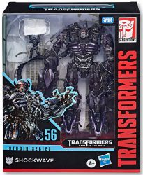 DUŻA Figurka Transformers GENERATIONS STUDIO SERIES LEADER Shockwave