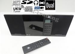 Wieża stereo DUAL Vertical 151 MP3-CD USB SD AUX Pilot
