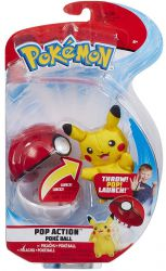 Wyskakujący Pikachu Pokemon Poke Ball Pop Action